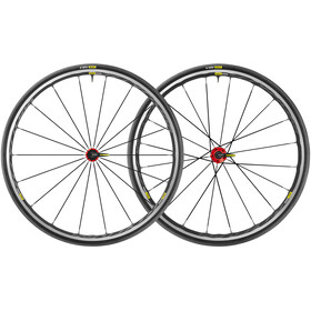 Mavic Ksyrium Elite UST Wheelset Shimano/SRAM M-25 black/red